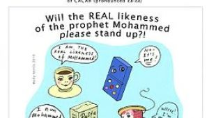 Is Drawing Living Things Haram In islam Everybody Draw Mohammed Day Wikipedia