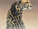 Jaguar Animal Drawing Acrylic Painting by Fuz Caforio Titled Elvis Ii Art Art