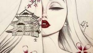 Japan Drawing Girl 1739 Best Japanese Drawings Images Drawings Artworks Russian Art