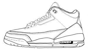Jordan 1 Drawing Easy Jordan 7 Drawing at Getdrawings Com Free for Personal Use Jordan 7