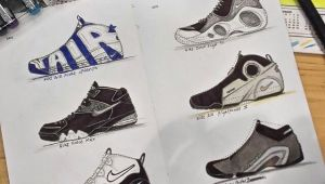 Jordan 6 Drawing Here are 6 Drawings Of Nike Sneakers Done by Raw Mass Instagram