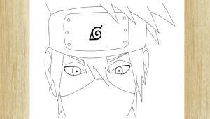 Kakashi Drawing Easy Como Dibujar A Kakashi Hatake De Naruto Shippuden