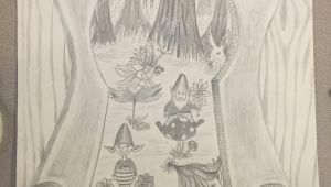 Keyhole Drawing Ideas Keyhole Drawing High School Projects Drawings Art Drawings Art