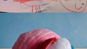 Kids Drawings Turned Into Stuffed Animals Kids Drawings Made Real Kid Drawings Drawing for Kids