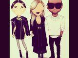 Kim K Drawing Kim and Kanye Round 2 Kim Kardashian Jen atkin Aaron Favaloro