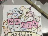 L Drawing Card Diy Birthday Card Jingpei Drawing Sharpie Art Draw Home Made