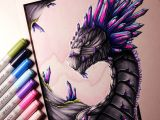 Lethalchris Drawing Dragons Gemstone Dragon Drawing by Lethalchris to Draws Pinterest