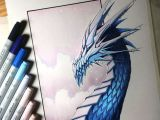 Lethalchris Drawing Dragons Ice Dragon Drawing by Lethalchris On Deviantart Artist S Process