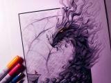 Lethalchris Drawing Dragons Smoke Dragon Drawing by Lethalchris Dragons In 2019 Drawings