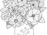 Line Drawing Flowers In Vase Www Colouring Pages Aua Ergewohnliche Cool Vases Flower Vase Coloring