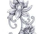 Line Drawing Of Lotus Flower Flower Sketch Dr Odd Drawings Pinterest Tattoos Flower