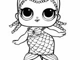 Lol Doll Drawing Easy Print Mermaid Lol Surprise Doll Merbaby Coloring Pages