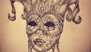 Masquerade Mask Drawing Easy Carnival Mask Tattoo Sketch B Mask Tattoo Venetian Mask