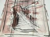 Match 6 Drawing Abstract Lines Print Bridge Scarves Prevent Bask Romantic Scarf Silk