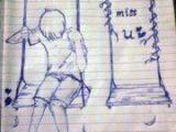 Miss U Drawing I Miss U A Inspirationals Pinterest Drawings Miss You and I