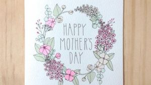 Mothers Day Drawing Ideas Homemade Mother S Day Cards Mothers Day Cards Mothers Day