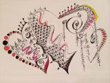 Pen Drawing Of A Heart A Drawing Doodle I Just Finished Carvado Pinterest Doodles