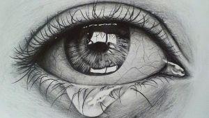Pencil Drawing Of Girl Eyes Crying Eye Sketch Drawing Pinterest Drawings Eye Sketch and