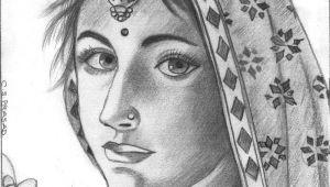 Pencil Drawing Village Girl Pencil Sketches Of Indian God Sculptures Animals Actress Etc