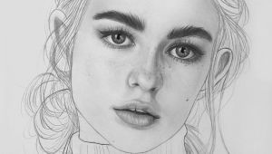 Portrait Drawing Images Easy Portrait Drawing Wip by Jeremybear Realistic Drawings