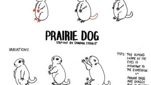 Prairie Dogs Drawing Easy Life Imitates Doodles Prairie Dog Fantasy Landscape Step Out