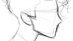 Q and Easy Drawings Drawing Stuff Cool Drawings Line Drawings Hair Drawings Simple