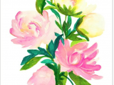 Rose Bouquet Drawing Watercolor Flowers Products Watercolor Watercolor Paintings
