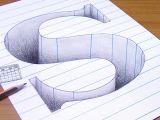S Drawing 3d How to Draw 3d Letter S 3d Trick Art U Oao O C O U O O U Flickr