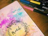 Scrapbook Drawings Ideas 30 Gorgeous Watercolor Bullet Journal Layout Ideas Bullet