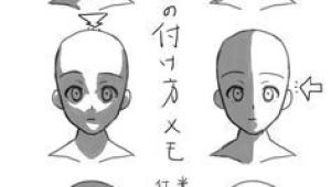 Shadow Anime Drawing Different Lighting Direction On A Face Drawings Sketches