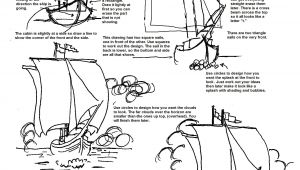 Ship Easy Drawing Pin by Adron Dozat On How to Draw Worksheets I Designed In
