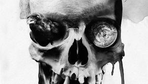 Skull Drawing Artists Digital Skull Illustrations by Noxbil Artists that Inspire Skull