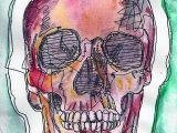 Skull Drawing Background Watercolor Skull Painting Pinterest Drawings Skull Art and Skull