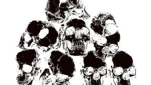 Skull Drawing by Wizard Od Skull Pile Clip Art Get Started at thatshirt