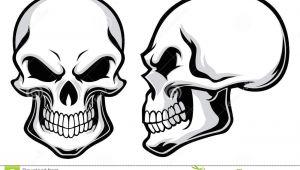 Skull Drawing Easy Cartoon Cartoon Skulls Stock Vector Illustration Of Creepy Antique 35934299