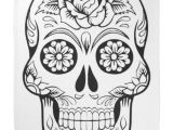 Skull Drawing for Halloween Skull Drawing with Black Ink In White Background Bandana Black