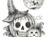 Skull Drawing for Pumpkin Pin by Samantha Cain On Halloween Art Drawings Halloween Drawings