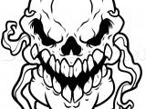 Skull Drawing for Pumpkin Step 6 How to Draw A Pumpkin Skull
