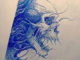Skull Drawing for Tattoo Skull Sketch Tattoosketch by Nekronikon Tatoo Ideen Pinterest