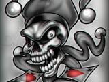 Skull Drawing Joker Joker Skull Dragoart Com Skulls In 2019 Pinterest Skull