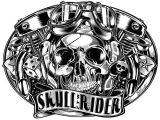Skull Drawing Logo Black White Gallery by David Vicente Via Behance Harley