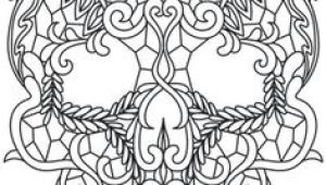 Skull Drawing Pattern 95 Best Lace Skull Images Drawings Skull Art Block Prints