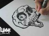 Skull Drawing Sharpie 9 Best Sharpie Art Images Sharpie Art Sharpie Doodles Sharpie