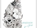 Skull Drawing Small Skull Feather Tattoo Pinterest Tattoos Tattoo Designs and
