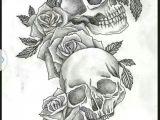 Skull Drawing Small Skulls Roses Tattoo Tattoos Tattoos Skull Tattoos Tattoo Designs