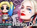 So Cute Drawing Jojo How to Draw Suicide Squad Harley Quinn Chibi Youtube