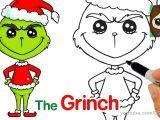 So Cute Drawing Jojo How to Draw the Grinch Easy Kids Fun Stuff Pinterest Cute