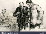 Stalin Drawing Wolves 1940s Russian Propaganda Stock Photos 1940s Russian Propaganda