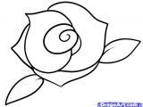 Steps to Drawing A Rose for Beginners How to Draw A Rose Step by Step Easy Google Search Draw