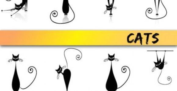 Stick Drawing Of A Cat Stick Figure Black Vector Stick Figures Pinterest Drawings